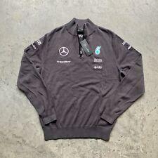 NWT Formula 1 F1 Track Jacket Sweater AMG Mercedes Petronas Hugo Boss M
