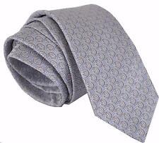 NEW Gucci Men's 408872 Light Sky Blue Silk Twill Interlocking GG Neck Tie