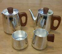 Vintage Sona J122 Coffee Set Team handles retro kitchenalia