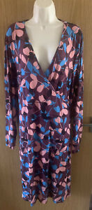 La Redoute Castaluna Ladies Floral Dress, Size 28, NWOT, Plus Size, Curve,