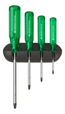 PB Swiss Tools PB 243 Screwdriver Set PoziDriv Wall Rack Classic Handle