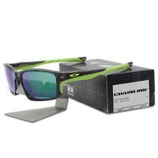 Oakley OO 9247-04 CHAINLINK Grey Smoke with Jade Iridium Lens Mens Sunglasses .