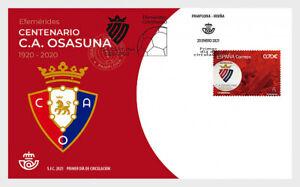 spain 2021 espagne Cent FOOTBALL soccer Centennial Club Atletico Osasuna 1v FDC