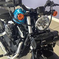 Motorrad Leder Werkzeug Rolle Satteltasche Harley Davidson Softail Sportster