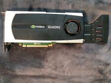NVIDIA QUADRO 5000 Professional Graphics Card 3D Rendering, Game Design, Editing