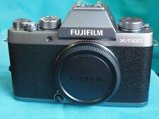 FUJI X-T100 Body - internal FULL SPECTRUM filter FITTED or choice
