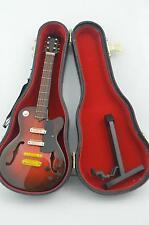 1/6 Scale Handmade wooden classic Folk electric guitar model instrument