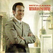MANOLO ESCOBAR-TU ME JURASTE SINGLE VINILO 1971 B-B
