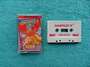 GAUNTLET II - by kixx - C64 / C128 / commodore 64 / 128 cassette
