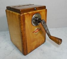 Antiguedad molino grano cereales grano molino leinbrocks ideal grain Mill art deco 20er