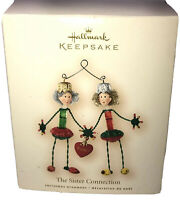 Hallmark Keepsake Christmas Ornament Box Only for The Sister Connection Ornament
