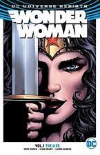 DC Universe Rebirth Wonder Woman Vol.1 The Lies Trade Paperback Graphic Novel