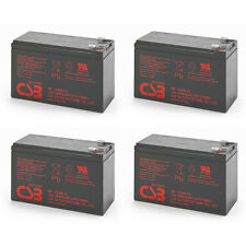 Lot of 4 New 2018 HR1234W CSB High Rate 12V 34W SLA Battery w/F2 Terminals