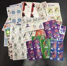 Lot de faciale 100 timbres à 12 Francs pour Affranchissement