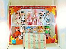 !EXTREMELY RARE! 2003 McDonald's MADAME ALEXANDER DOLLS **ADULT COLLECTORS SET**
