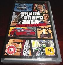 [PAL] Grand Theft Auto: Liberty City Stories  FACTORY SEALED BLACK LABEL Y-FOLDS