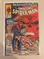 Amazing Spider-Man #325 VF- Todd McFarlane Art CAPTAIN AMERICA SILVER SABLE