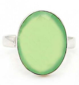 Aventurine 925 Solid Sterling Silver Ring Jewelry Sz 7, ED22-7