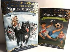 Magic Tree House Merlin Missions #24 Soccer on Sunday & #26 Balto oh the Blue