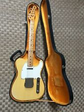 Fender Telecaster 1975 USA blonde avec Maple Neck All Original sauf Switch tip
