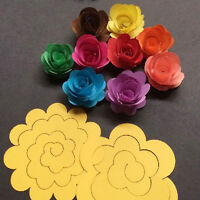 20pcs 10 Color  Rose Quilling Paper Mixed Color Origami Paper Craft Decor Supply