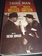 The Third Man (Vhs 1949) Orson Welles Joseph Cotten ~ 1985 Goodtimes Vhs