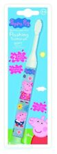 Kids Toothbrush Peppa Pig Flashing Toddler Toothbrush Children Manual Oral Care