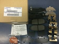 Rear Brake Pad Kit Subaru Outback Legacy Forester Impreza WRX 26696AG031 Genuine