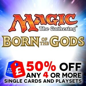 MAGIC THE GATHERING - BORN OF THE GODS - COMMON SINGLE CARDS - BRAND NEW