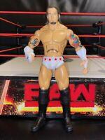 WWE CM PUNK JAKKS DELUXE AGGRESSION SERIES 8 WRESTLING ACTION FIGURE