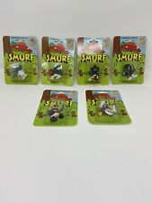 Vintage Smurf Toys New In Packages Set Of 6