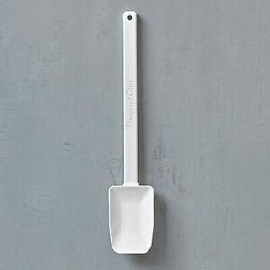Pampered Chef MIX N SCRAPER  Heavy-Duty Silicone Spatula Spoon - DISHWASHER SAFE