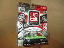 20s TIS 61 CHEVY CONVERTIBLE SLAMMED LOW RIDER BELAIR MALIBU INTERNATIONAL 1/64