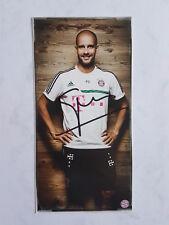 Original Autogramm Pep Guardiola FC Bayern München Manchester City