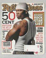 50 Cent Curtis Jackson Rolling Stone Apr 2003 Zwan Great White John Mayer