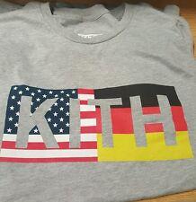 Kith Flag Box logo t shirt size xl brooklyn ronnie fieg limited to 200 pieces