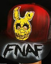 Five Nights at Freddy's spring trap rare airbrush hat