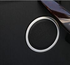 Door Speaker Decoration Cover Trim 4pcs For BMW 3 Series F30 320i 328i 2013-2015