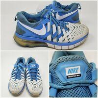 Nike Lunar Fingertrap MAX Blue Running Training Shoes Sneakers Men's Size 8.5