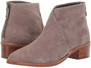 Soludos Women's Venetian Leather Bootie *Mineral Gray Size: 5 - 5.5