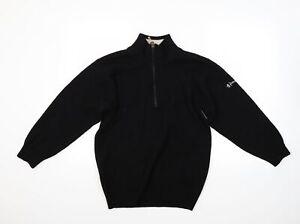Pringle Mens Black   Pullover Jumper Size S