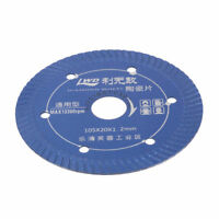 4 Inch Super Thin Diamond Ceramic Saw Blade Tile Marble Ceramic Cutting Tool
