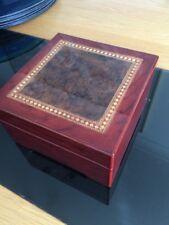 Beautiful Wooden inlaid jewellery box
