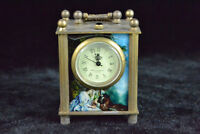 Clock Collectible Copper figure Mechanical armstrong's patent Pocket rare Watch