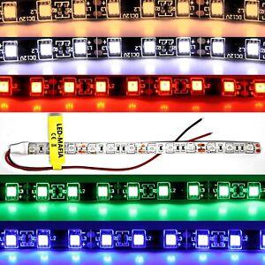 12V Volt LED Strip Wasserdicht Kabel Selbstklebend Beleuchtung streifen 9,99€/m