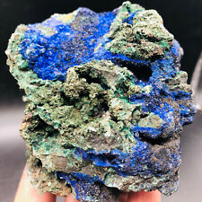 1.55LBNatural Blue Copper Ore/Malachite Crystal Mineral Specimens and Protoliths