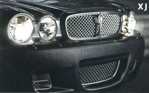 JAGUAR XJ RANGE Car Sales Brochure 2008 #JLM/10/02/04/08