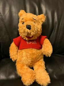 "Disney Winnie the Pooh Plush Bear 14."" Ships Priority Mail"