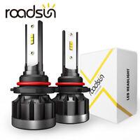 2x CREE CSP 1200W 9006 HB4 LED Headlight Kit 550000LM High Beam 6000K Light Bulb