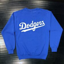 Los Angeles Dodgers Crew Neck Sweat Shirt LA LAD Sweatshirt Adult Men Cotton